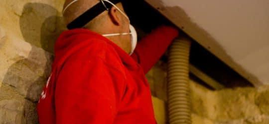 Entreprise d'isolation par insufflation des combles aménagés depuis plus de 15 ans iso souffle